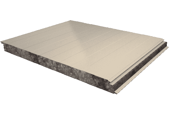 Panel fachada nucleo lana de roca estándar