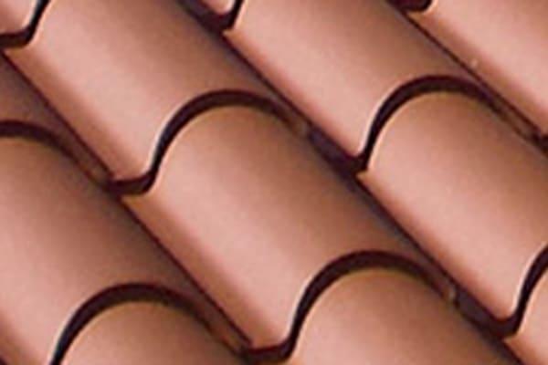 Cubierta panel sándwich imitación teja