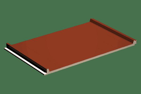 Panel sandwich cubierta 2 grecas