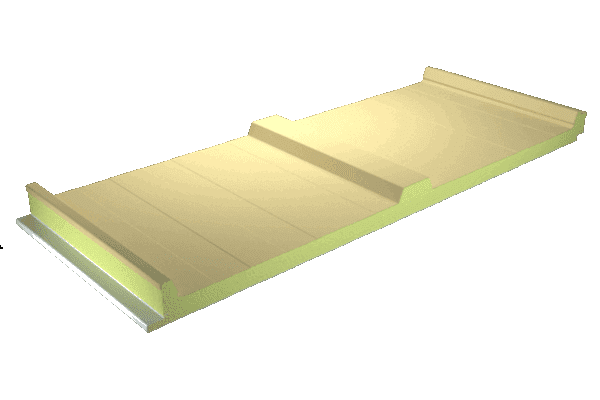 Panel cubierta sándwich color crema Bidasoa