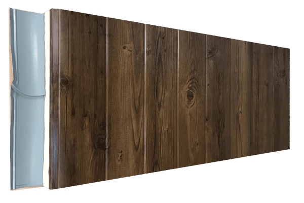 Imitación madera oscura listón ancho